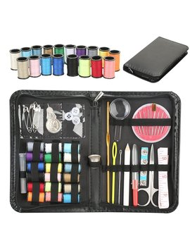Professional Travel Sewing Kit Bundle With Accessories For Adults,Beginners,Students,Emergency by Mebber