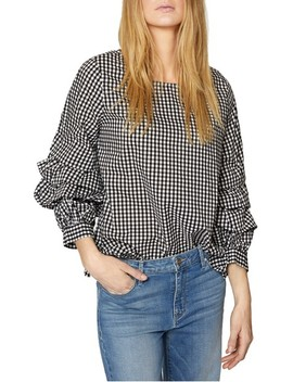 Delphine Tiered Sleeve Top by Sanctuary