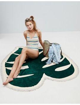 Ban.Do Tropical Leaf Beach Towel by Ban.Do