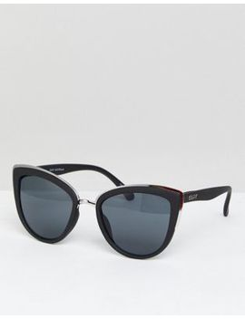 Quay Australia My Girl Cat Eye Sunglasses In Black by Quay Eyeware
