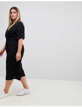 New Look Curve Wrap Jumpsuit by New Look Curve