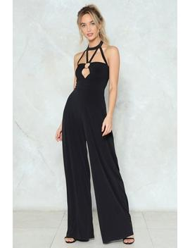 Ring Ring Strappy Jumpsuit by Nasty Gal