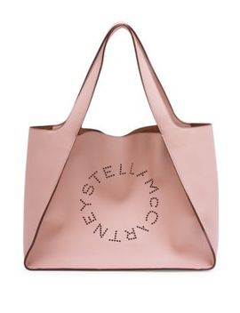 Faux Leather Boxy Tote Bag by Stella Mc Cartney
