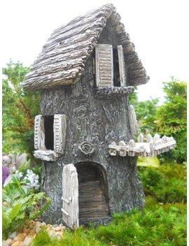 Fairy Garden Driftwood Hide Away by Wfg