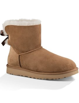 Ugg® Mini Bailey Bow Il Twinface Upper Bow Back Detail Booties by Ugg