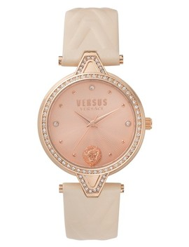 V Versus Leather Strap Watch, 34mm by Versus By Versace