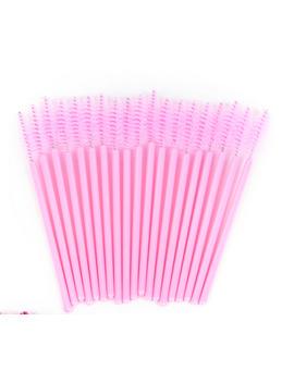 50 Pcs Hot Sale Applicator Spoolers Makeup Brush Tool Cosmetic Eyelash Extension Disposable Mascara Wand by Ali Jetting Makeup Store