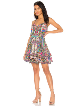 Long Way Home Frill Mini Dress by Camilla