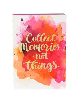 Bound Collect Memories Notepad, Multi by Unbranded