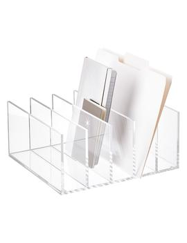 5 Section Premium Acrylic Collator by Container Store
