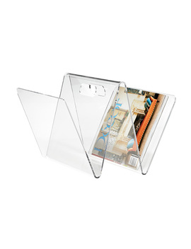 W Magazine Rack by Container Store