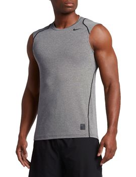 Nike Men's Pro Cool Fitted Sleeveless Shirt by Nike
