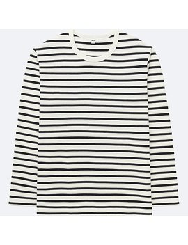 T Shirt RayÉ Manches Longues Homme by Uniqlo