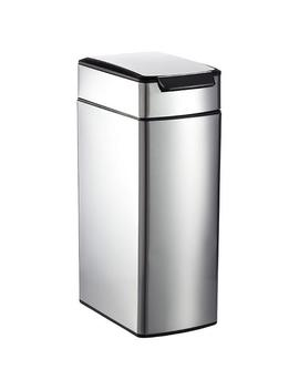Simplehuman Stainless Steel 10 Gal. Slim Touch Bar Trash Can by Container Store