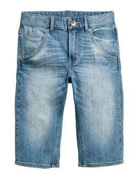 tapered-jeansshorts by h&m