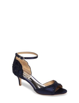 Morgen Ankle Strap Flat by Badgley Mischka