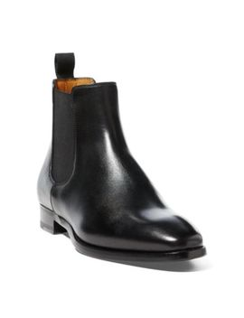 Galen Burnished Calfskin Boot by Ralph Lauren
