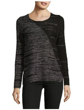Reflection Colorblock Knitted Top by Nic+Zoe