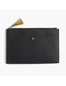 Signet Large Pouch by J.Crew