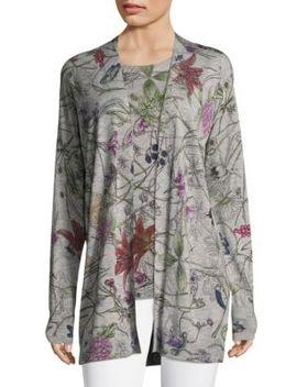 Seyduna Floral Cardigan by Escada Sport