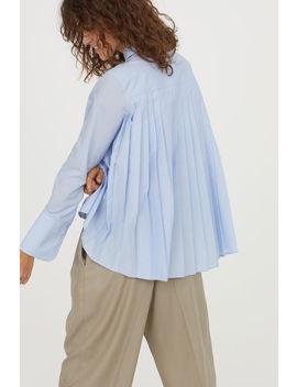 Pleated Shirt by H&M