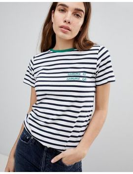 New Look Comme Ci Stripe Tee by New Look