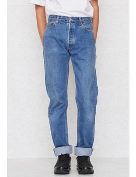 Vintage Blue Levi's 501 Fit Denim Jeans by Levi's