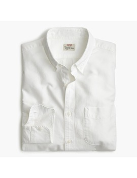 Stretch American Pima Cotton Oxford Shirt by J.Crew