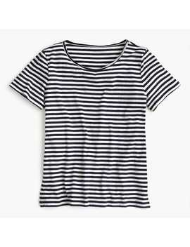 Supersoft Supima® T Shirt In Stripes by Supersoft Supima