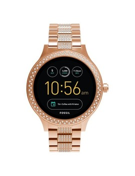 Fossil Gen 3 Smartwatch   Q Venture 45mm Rose Gold Tone With Glitz by Fossil