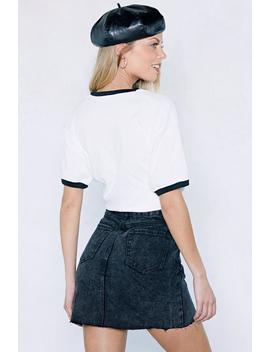 O My Gosh Denim Skirt by Nasty Gal