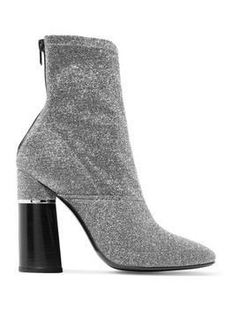 Kyoto Metallic Stretch Knit Sock Boots by 3.1 Phillip Lim