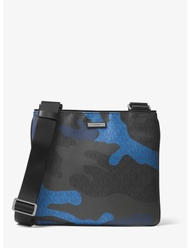 Jet Set Camouflage Logo Crossbody by Michael Kors Mens