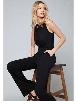Jersey Jumpsuit by Bebe