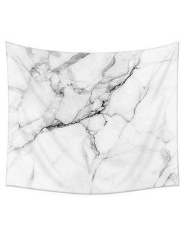 "Wild Symbol Marble Wall Tapestry Hanging, Uphome Light Weight Polyester Fabric Wall Decor (51""H X 60""W, Marble) by Uphome"