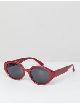 Stradivarius Oval Sunglasses by Stradivarius
