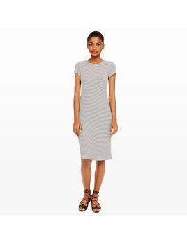 Jaquetta Stripe Knit Dress by Club Monaco