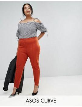 Asos Curve Strirrup Washed Pant by Asos Curve