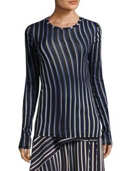 Stripe Vertical Top by Diane Von Furstenberg