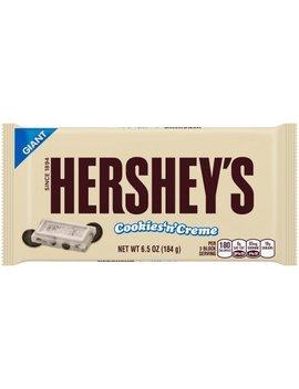 Hershey's Giant Cookies 'N' Creme Bar 6.5 Oz. Wrapper by Hershey's