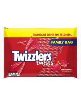 Twizzlers, Strawberry Twists, 24 Oz (Pack Of 4) by Walmart