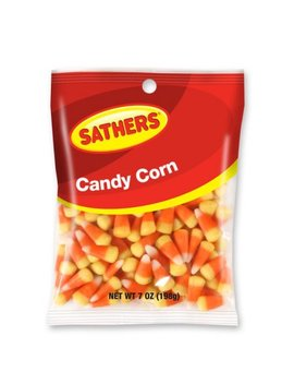 Sathers Candy Corn, 7 Ounce Bag by Sathers