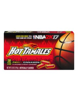 Hot Tamales Chewy Candies Fierce Cinnamon, 5.0 Oz by Hot Tamales