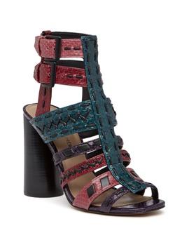 Bindy W5 Heel Sandal by Donald Pliner