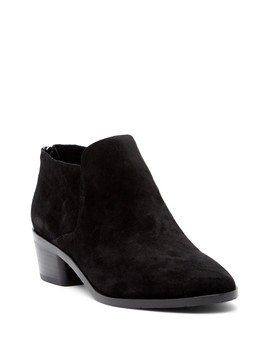 Carie Oiled Suede Bootie by Donald Pliner