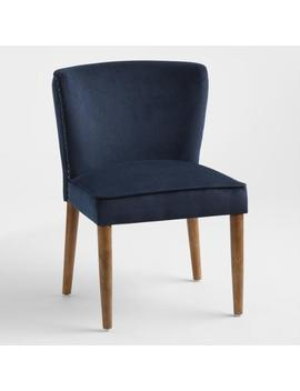 Ink Blue Chloe Dining Chairs Set Of 2 by World Market