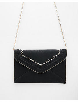Moda Luxe Studded Casia Clutch by Express