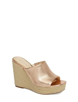 Sirella Platform Wedge Slide Sandal by Jessica Simpson