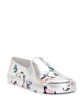 Dinellia Floral Print Slip On Sneakers by Jessica Simpson