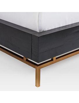 Alexa Bed   Black by West Elm